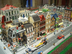 DSC05028 (fdsm0376) Tags: lego exposition madrid 2018 castle roma winter village city ww2