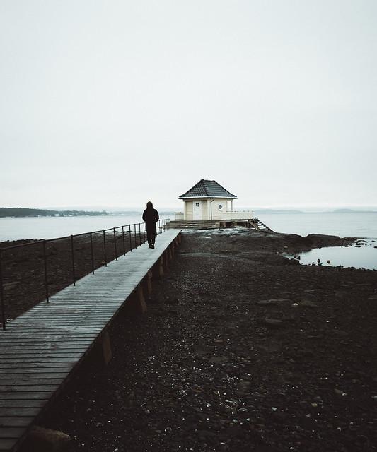 Walking at Fornebu