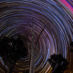 Star Trails - Lake Ninan, Western Australia thumbnail