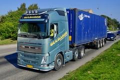 AH79527 (16.09.14, Marselis Boulevard, Kongsvang Allé)DSC_5569_Balancer (Lav Ulv) Tags: 215886 volvo volvofh fh4 guldagertransport guldager henrikguldager 2013 e5 euro5 6x2 fh460 firstclass green container cronos marselisboulevard truck truckphoto truckspotter traffic trafik verkehr cabover street road strasse vej commercialvehicles erhvervskøretøjer danmark denmark dänemark danishhauliers danskefirmaer danskevognmænd vehicle køretøj aarhus lkw lastbil lastvogn camion vehicule coe danemark danimarca lorry autocarra danoise vrachtwagen trækker hauler zugmaschine tractorunit tractor artic articulated semi sattelzug auflieger trailer sattelschlepper vogntog oplegger sættevogn