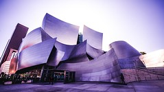 Walt Disney Concert Hall, Los Angeles (Tim Bullock Photography) Tags: walt disney concert hall los angeles sunset light shadow architecture