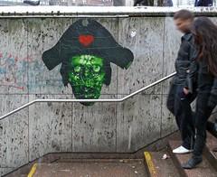 - (txmx 2) Tags: hamburg streetart stencil lospiratoz lospiratos people metro subway stair entrance altona ottensen cutout pasteup