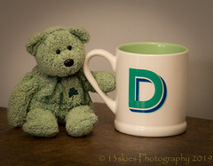 What Do You Think (HTBT) (13skies) Tags: theletterd dcup gerrie happyteddybeartuesday cup drinking coffee tea mug bear teddybeartuesday teddy posing fun playing htbt sonyalpha99 proud quip joke playonwords