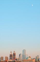 Seoul (Photolobe!) Tags: sky architect seoul building moon