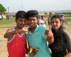 Family (IMG_0301ed) (Denish C) Tags: srilanka ceylon beauty serendip mother son portrait family smile happy joy beach sand