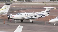 Pilatus PC-12/47E N417SK (ChrisK48) Tags: kdvt aircraft airplane phoenixaz phoenixdeervalleyairport pendingnumberchangeton417sk 2016 dvt n18yu pilatuspc1247e
