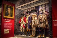 Tennessee State Museum (donnieking1811) Tags: tennessee nashville tennesseestatemuseum museum exhibit theamericanrevolution uniforms indoors hdr canon 60d lightroom photomatixpro