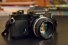 Nikkormat FT2 (Howard Sandler (film photos)) Tags: nikkormat ft2 camera vintage cameraporn