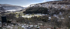 A Light Touch Of Snow (cassidymike21) Tags: landscape valley hills pennines trees nikon snow winter