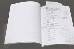 Titanic Shooting Script (goodfella2459) Tags: nikonf4 afnikkor50mmf14dlens kodaktrix400 35mm blackandwhite film analog titanic sydney nationalmaritimemuseum jamescameron jamescameronchallengingthedeep bwfp