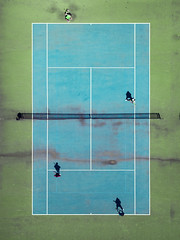 Tennis (__will) Tags: drone dji djimavic djimavicpro mavicpro aerial skysupply shadow tennis