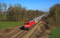 101 009 (maurizio messa) Tags: br101 eurocity ec ec390 germania germany mau bahn bayern ferrovia treni trains railway railroad nikond7100