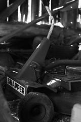 Old Mower (9J11) Tags: blackwhite bw mower