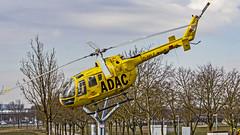 ADAC Luftrettung Messerschmitt-Bölkow-Blohm Bo 105 (MBB Bo105CB) D-HILF Munich (MUC/EDDM) (Aiel) Tags: adac adacluftrettung messerschmittbölkowblohm mbb bo105 mbbbo105cb bo105cb dhilf munich canon60d sigma60600