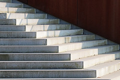 Ascend (Lugarplaceplek) Tags: stairs steps diagonal abstract