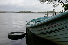 The Bog Warrior (RoystonVasey) Tags: canon eos m 1855mm stm zoom eire republic ireland mayo galway loch coirib lough corrib sun rain boat