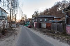 Uritskogo Street (gubanov77) Tags: vladimir russia street streetscape city cityscape architecture building