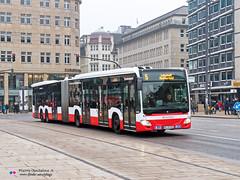 Mercedes Capacity L - Hochbahn 4806 (Pi Eye) Tags: mercedes o530 citaro capacity c2 capacityl articulé gelenk hambourg hamburg hochbahn vhh hvv bus