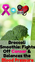 Broccoli Smoothie: Fights Off Cancer & Balances the Blood Pressure (healthylife2) Tags: broccoli smoothie fights off cancer balances blood pressure