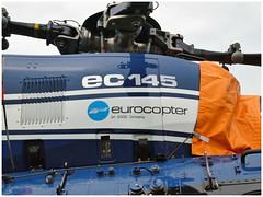 Eurocopter EC-145 B - F-MJBI  Gendarmerie (Aerofossile2012) Tags: eurocopter ec145 b fmjbi gendarmerie helicoptère helicopter helo voiluretournante meeting airshow laferté 2017