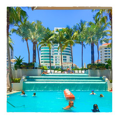 Poolside (Timothy Valentine) Tags: pool 2017 clichésaturday people lunch vacation ourhotel o 0417 sanjuan puertorico pr