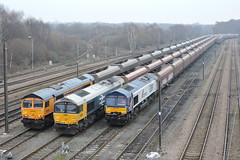 Non-standard triple (mike_j's photos) Tags: class66 gbrf 66780 66789 66782 doncaster explored