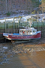 DSC03409 - Silver Gale II (archer10 (Dennis) 196M Views) Tags: sony a6300 ilce6300 18200mm 1650mm mirrorless free freepicture archer10 dennis jarvis dennisgjarvis dennisjarvis iamcanadian novascotia canada hallsharbour fishing boats low tide