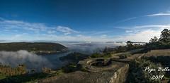 Ferrol baixo a neboa (pepe_bello) Tags: panorama neboa niebla riadeferrol ferrol ferrolterra galicia abailadora miradordabailadora ares