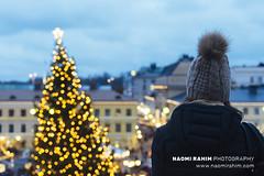 Christmas in Helsinki (Naomi Rahim (thanks for 4 million visits)) Tags: helsinki finland 2018 europe europa christmas xmas scandinavia night lights travelphotography travel nikon nikond7200 wanderlust lowlight market girl beanie hat