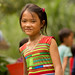 A girl in Ha Giang Province