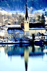 Sonne ☀️ genießen 😊 (j-verne) Tags: winter sonne bavaria bayern see tegernsee