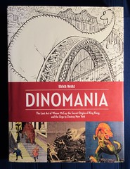 94 Dinomania - The Lost Art of Winsor McCay 2494 (Brechtbug) Tags: dinomania the lost art winsor mccay secret origins king kong urge destroy new york published by fantagraphics book 2015 sunday funnies comic strip newspaper news paper windsor mccays fantasy animation herald tribune papers cartoonist animator brontosaurus city 2019 nyc dinosaur prehistoric monster lizard creature green very much like sinclair oil gas station logo from 1960s 1970s ulrich merkl