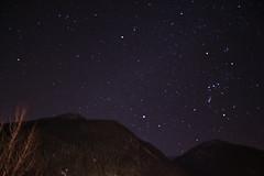 Sky stars over Aosta valley (MarcoCab) Tags: sky stars night aosta stelle cielo