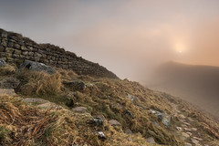 Jupiter's Veil (mattwalkerncl) Tags: canon eos 6d 1740 landscape sunrise mist weather conditions outdoor photography benro lee filters layers depth colour path walk explore roman housesteads cuddyscrag northumberland uk england visitengland