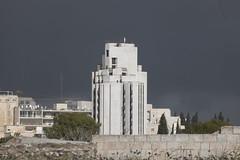 Black Clouds Overing over Jerusalem-2 (zeevveez) Tags: זאבברקן zeevveez zeevbarkan canon cloud black biblehill