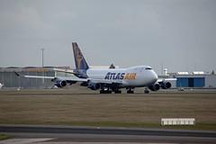 Berlin SXF 19.3.2019 Atlas Air Boeing 747 (rieblinga) Tags: berlin sxf schönefeld flughafen boeing 747 atlas air frachtmaschine lufttransport