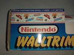 North American Decorative Products Super Mario Bros Nintendo Wall Trim 14 (gamescanner) Tags: north american decorative products super mario bros nintendo wall trim covering walltrim decor sculpted vinyl border upc 058559709011 058559709035 rosewall inc 1989 sku 70902