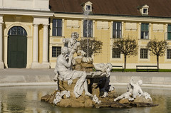 Grounds of Schonbrunn Palace (rschnaible) Tags: vienna austria europe schonbrunn palace castle old history historical outdoor sightseeing building architecture statue monument