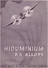 R.R. ALLOYS (old school paul) Tags: vintage ads adverts 1937 aviation aircraft aeroplanes
