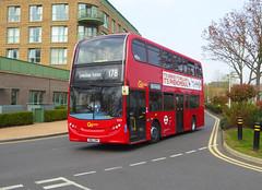 GAL E275 - SN62DMV - NSF - TUDWAY ROAD KIDBROOKE - SAT 30TH MAR 2019 (Bexleybus) Tags: tudway road kidbrooke village ferrier se3 estate go ahead goahead london central adl dennis enviro 400 tfl route 178 e275 sn62dmv
