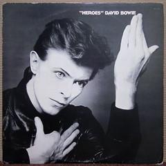 David Bowie - Heroes [1977] (renerox) Tags: vinyl records lp lpcovers davidbowie artrock newwave