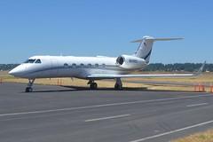 N299SC (LAXSPOTTER97) Tags: n299sc gulfstream aerospace g450 cn 4289 mch wilson inc airport airplane aviation kpdx