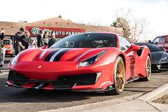 Pista (Hunter J. G. Frim Photography) Tags: supercar colorado carscoffee ferrari 488 pista italian coupe carbon v8 turbo ferrari488 ferrari488pista race track red purple rossocorsa