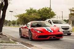 4-5-8 Speciale (Andre.Silot) Tags: ferrari 458 speciale v8 v 8 nart rosso scuderia corsa red vermelho vermelha são paulo sp exotic car motorgrid brasil brazil bra br nikon d3200 d 3200 2018