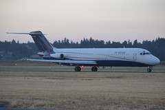 N205US (LAXSPOTTER97) Tags: n205us douglas dc9 dc932cf cn ln 47690 843 usa jet airlines airport airplane aviation kpdx