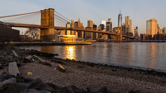 Manhattan Skyline (jonathan.scaife81) Tags: new york brooklyn manhattan bridge skyline world trade janes carousel ride east river usa united states america reflection light sunrise morning canon 6d tamron 28300mm tamron28300