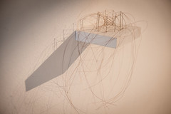 Christiane Löhr - Kleine ovale Haararbeit 2009 crine di cavalo aghi 39x28x15 cm_2 (anto291) Tags: vetrinedilibertà lalibreriadelledonne fabbricadelvapore arte artecontemporanea art contemporaryart