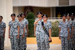 20190412_NCC (Sea) POP-2 (Wee Joe) Tags: ncc singapore photography uniformedgroup passingoverparade victoriaschool beret speech rank upgrade