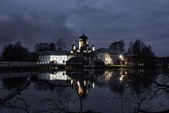 The Tenth Commandment (gubanov77) Tags: night longexposure alexanderpushkin russia pokrov church monastery vvedenskymonastery vvedenskoelake vvedensky