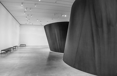 Band by Richard Serra - LACMA (ChrisGoldNY) Tags: sonya7rii sonyimages sonyalpha forsale licensing chrisgoldberg chrisgoldny chrisgoldphoto bookcover albumcover lacma losangeles california socal cali losangelescounty museum art exhibits bw sculpture richardserra museums